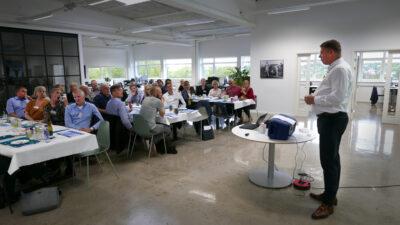 Over 30 jobåbninger blev skabt ved Social Dinner