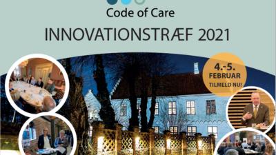 Code of Care InnovationsTræf 2021 – et døgn fyldt med meningsfuld erfaringsudveksling