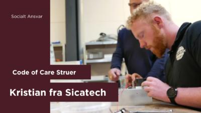 Socialt ansvar hos Sicatech